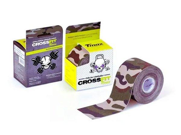 Fita Kinesio Tape camuflada Tmax Verde CrossFit