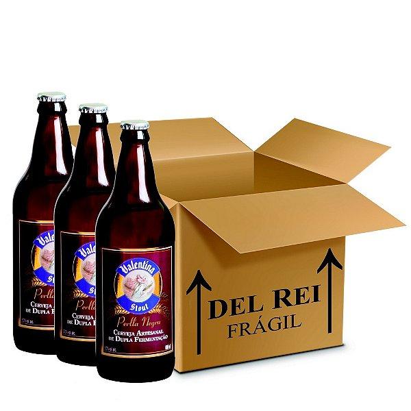 Cerveja Valentina Stout Perlla Negra 660ml - Box Com 12 Unidades