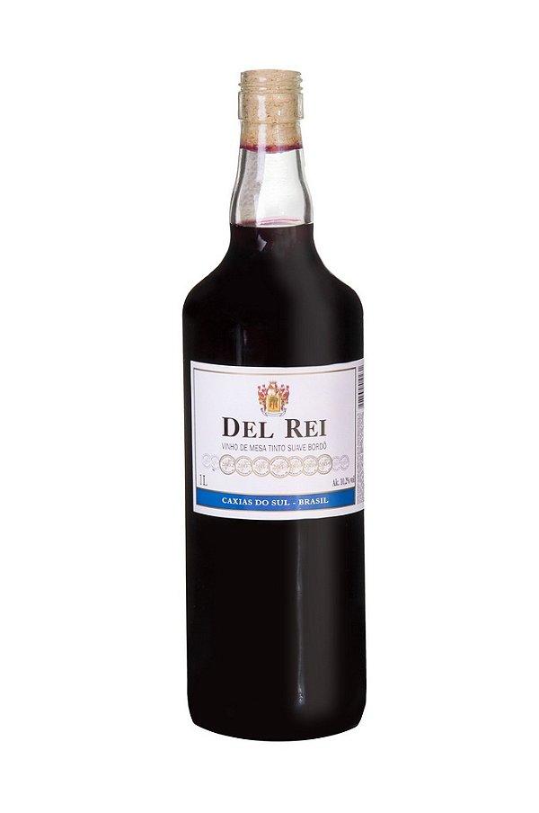 Vinho Colonial Del Rei Tinto Suave Bordo 1 L