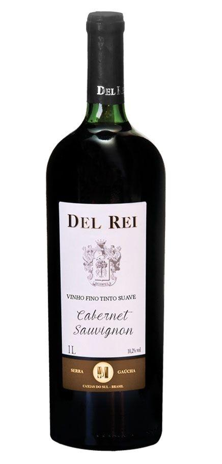 Vinho Del Rei Fino Tinto Suave Cabernet Sauvignon 1l