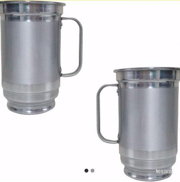 caneca 750 ml COLORIDA para sublimação 10 und