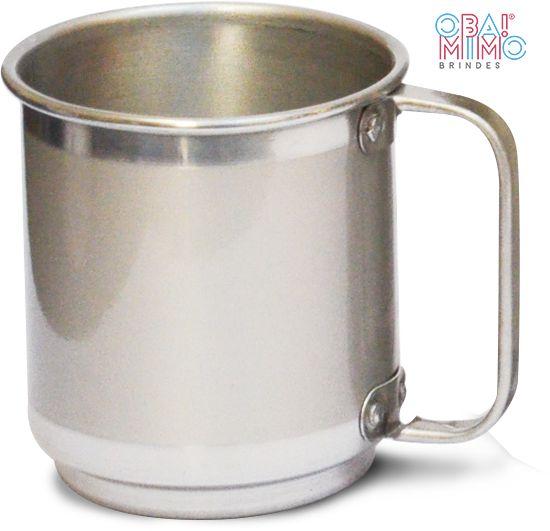 Caneca em Alumínio para Sublimação 450 ml 100 un