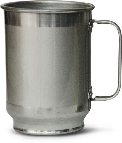 Caneca em Alumínio para Sublimação 600 ml 10 und