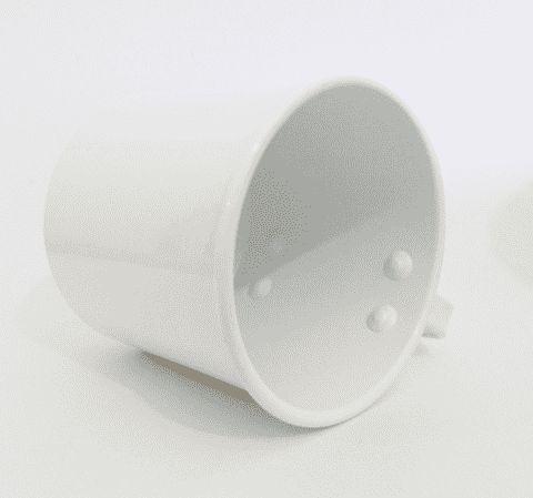 canecas de alumínios colorida para sublimação 400 ml - 25 unid.
