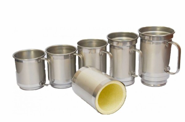 Kit Canecas de alumínios para sublimação