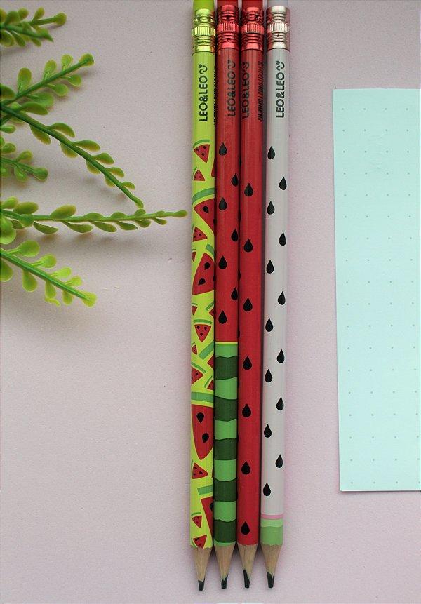 Lápis melancia LEO&LEO