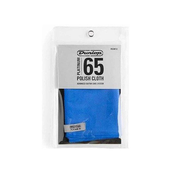 Flanela de Limpeza Microfibra Platinum 65 12 C - Dunlop