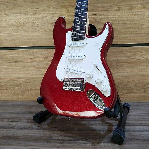 Guitarra Juvenil Strato 3/4 IST1-MRD Vermelha - PHX