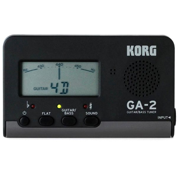 Afinador Korg para Instrumentos de Cordas GA-2