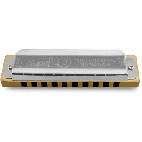 Harmonica Super 20 em Mi HB 8020E - Hering