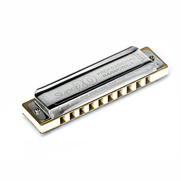 Harmonica SUper 20 em Fá 8020F - Hering