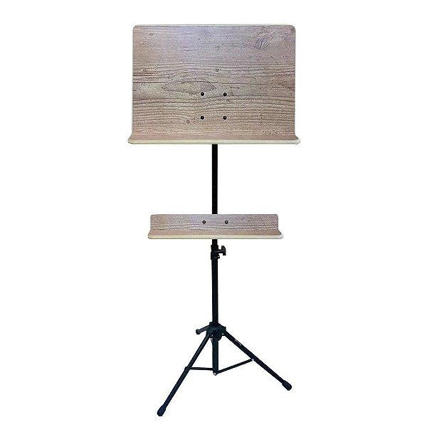 Suporte p/ Partitura Maestro c/ Madeira 5036-M - Saty