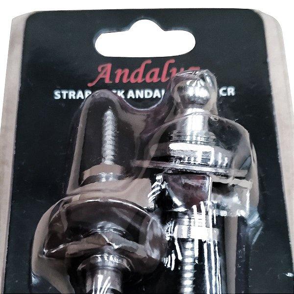 Strap Lock LK1 CR Cromado Andaluz - Dreamer