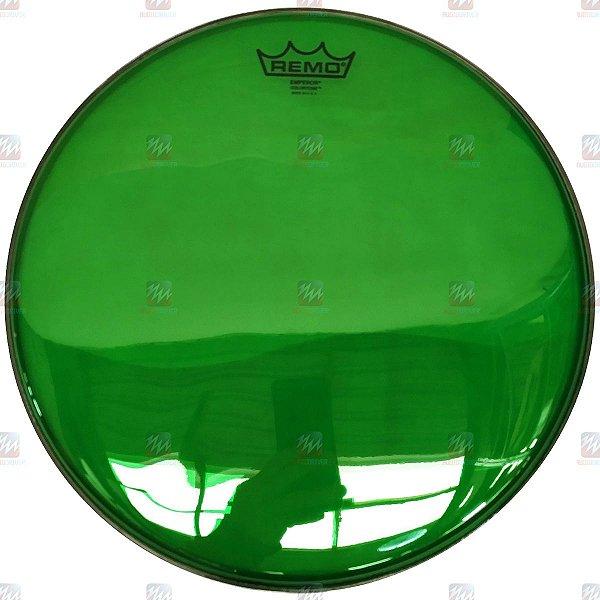"Pele Colortone Verde 14"" Emperor Transparente BE-0314-CT-GN - Remo"