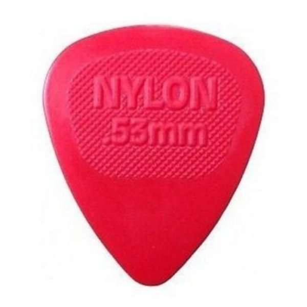 Palheta Nylon Midi 0,53 mm Vermelha - Dunlop 3785