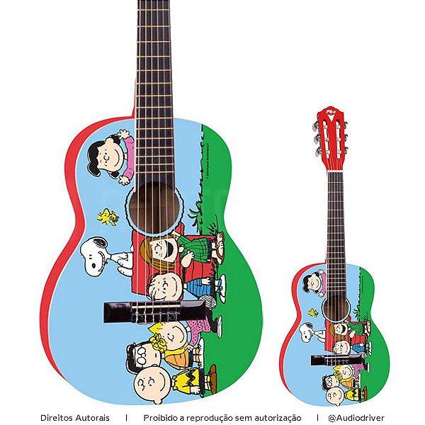 Violão Infantil PHX Snoopy Amigos VIS-A1