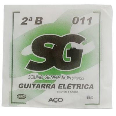 Corda Avulsa Guitarra 2ª SI 011 - SG