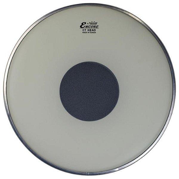 "Pele Para Tom 12"" Encore Controlled Sound Porosa Com Circulo Preto EN-0112-CT - REMO"