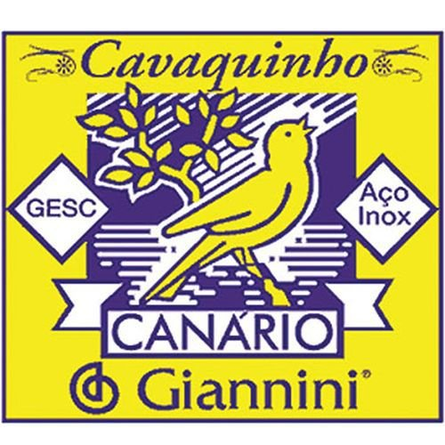 ENC CAVACO C/ CHENILHA GESC CANÁRIO - GIANNINI