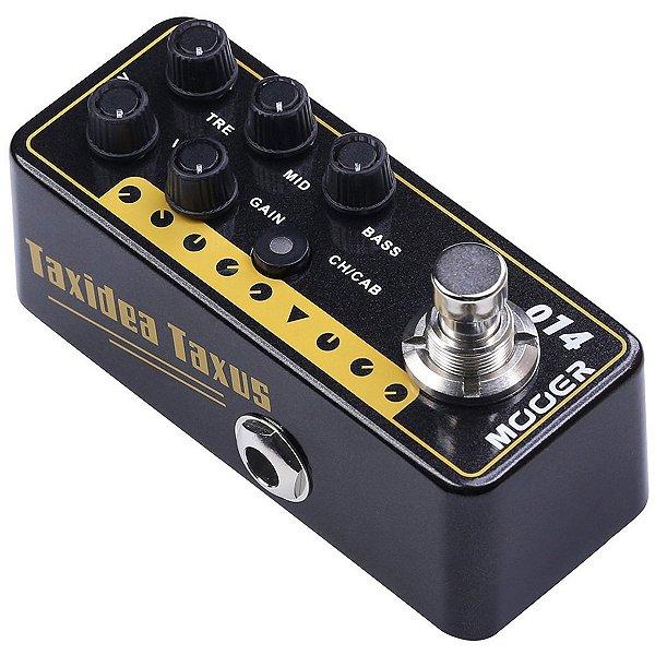 Pedal Pré Amplificador para Guitarra TAXIDEA TAXUS M014 - Mooer