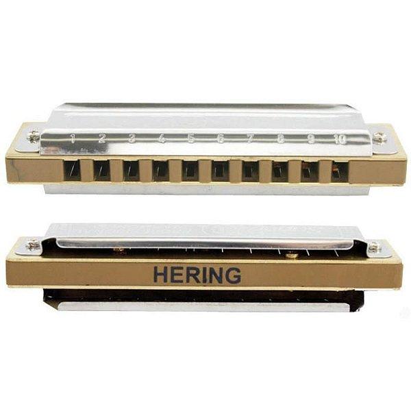 Harmonica Super 20 8020D em D (Ré) HB - Hering