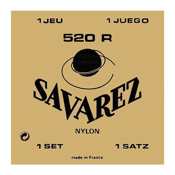 Encordoamento Nylon 520R Tensão Normal Tradicional - Savarez