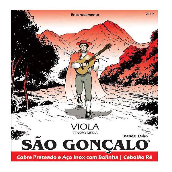 Encordoamento Viola Caipira - SAO GONCALO