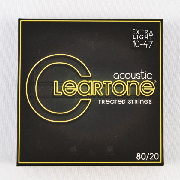 Encordoamento Violão 010-47 Bronze 80/20 Extra Light - Cleartone