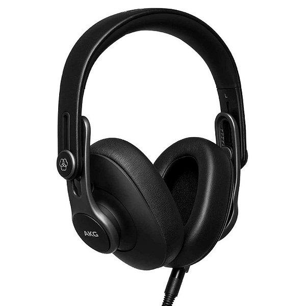 Fone de ouvido dobrável de estúdio Oval Over-Ear fechado K371 - AKG