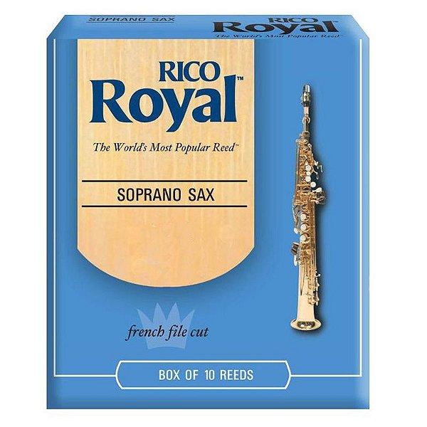 Palheta Sax Soprano 1,5 1/12 RIB1015 Caixa Fechada com 10 Unidades - Rico Royal