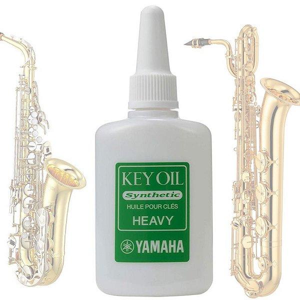 Oleo Lubrificante Key Oil Heavy para Chave de Instrumento de Sopro Saxofone Fagote 20 ml KOH3 - Yamaha