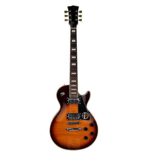 Guitarra Les Paul Strike Custom Braço Colado GM755N VS - Michael