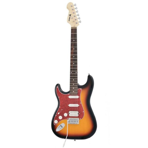 Guitarra Canhoto Strato Power Captadores HSS ST-H 3TS LH - PHX