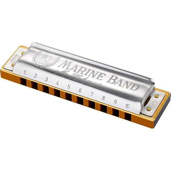 Harmonica Marine Band 1896/20 D (Ré) - HOHNER