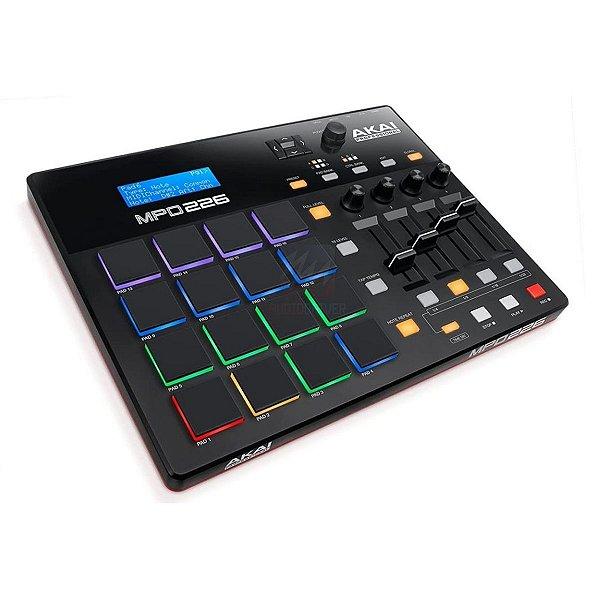 Controlador Midi USB para Sampler BeatMaker e Produção Musical MPD226 - Akai
