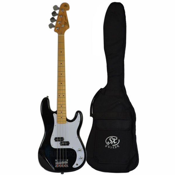 Baixo 4 cordas Precision Bass SPB57+ C/ Bag BB400 BK - SX