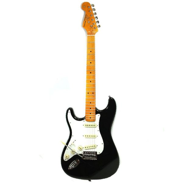 Guitarra Strato Canhoto Vintage SST57LH BK Preta - SX F3067