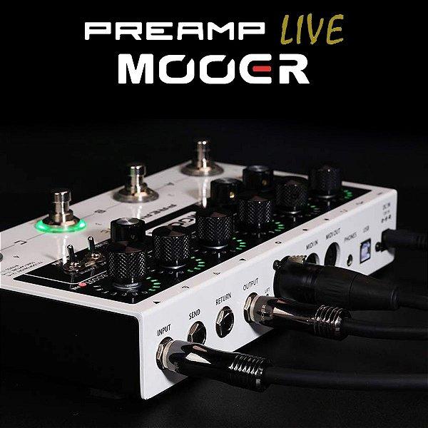 Pedaleira para Guitarra Preamplive M999 - Mooer