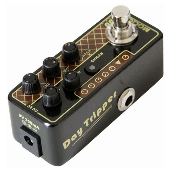 Pedal Pré Amplificador para Guitarra DAY TRIPPER M004 (Vox AC30) - Mooer