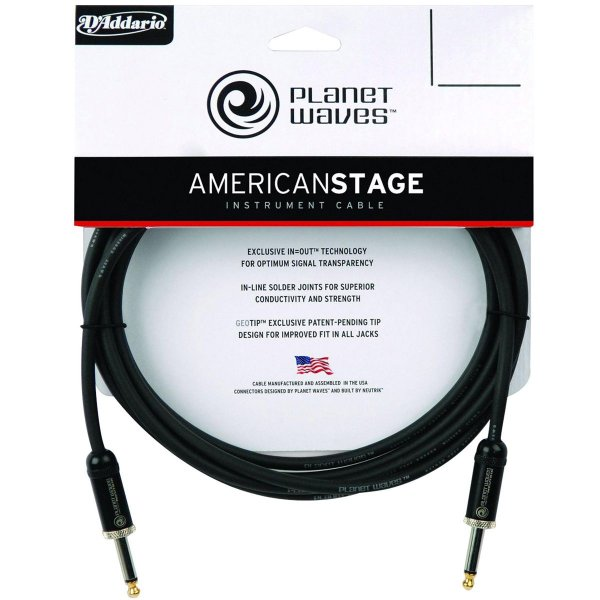 Cabo P10 / P10 American Stage PW-AMSG-10 3.05 Mt - Planet Waves