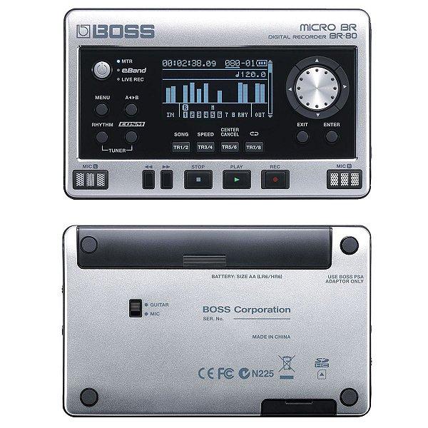 Gravador Digital Portatil BR-80 - Roland