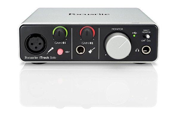 Interface de Audio Itrack Solo - Focusrite