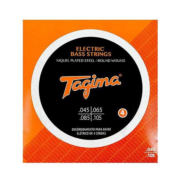 Encordoamento Baixo 4 Cordas 0.045 TCB 445 - Tagima