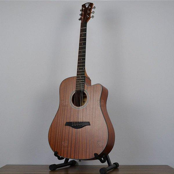 Violão Folk Cutway Elétrico PX-41 Natural - PHX