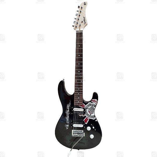 Guitarra Strato Corinthians GTU-1/COR - Waldman