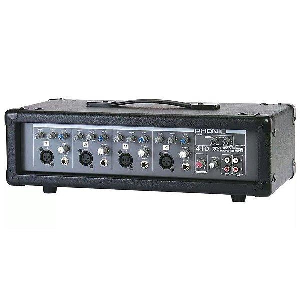MIXER CABEÇOTE AMPLIFICADO POWERPOD 410 - PHONIC