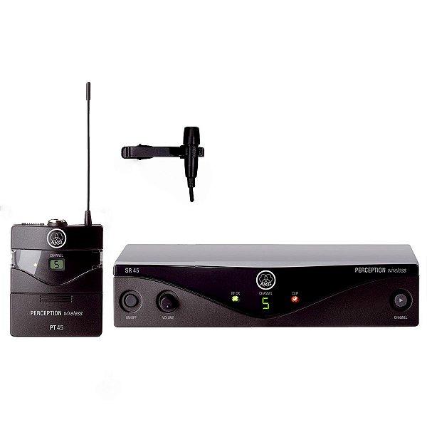 Microfone Lapela sem fio Perception Presenter Set BAND-A - AKG