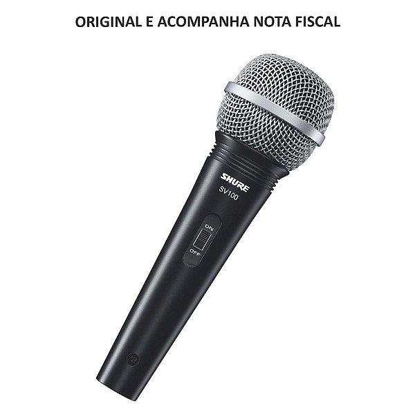 Microfone para Vocal com Cabo SV100 - Shure