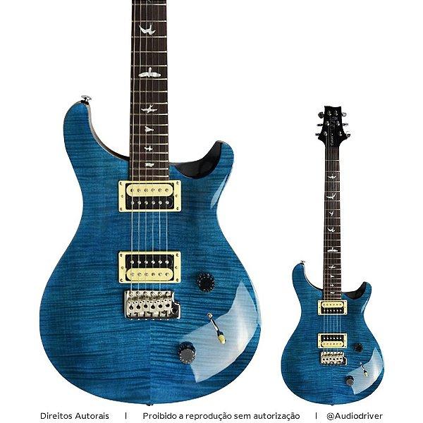 Guitarra PRS SE Custom 22 CU2 Sapphire Black Back