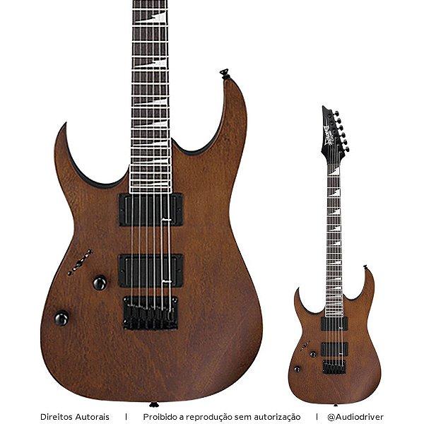 Guitarra Ibanez GRG 121DXL Canhoto Super Strato WNF